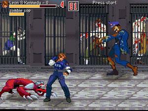 Capture d'écran du logiciel Crisis Evil DC 1 & 2
