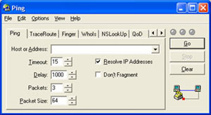 Capture d'écran du logiciel CyberKit 3.0b1