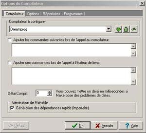 Capture d'écran du logiciel DC-Dev-C++ 0.2 R2