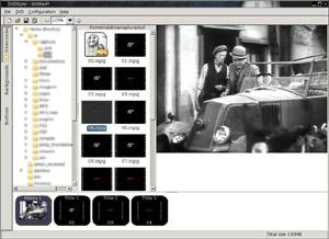 Capture d'écran du logiciel DVDStyler 3.0.4 fr - Linux