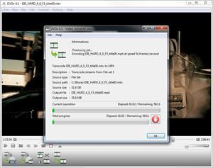 Capture d'écran du logiciel Dvdx 4.2 Build 5522 fr - Windows