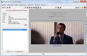 Capture d'écran du logiciel DVdate 7.2.2