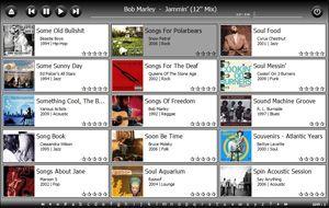 Capture d'écran du logiciel Dajukebox 2012.01.06