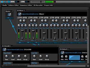 Capture d'écran du logiciel DarkWave Studio 5.7.4