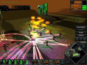Capture d'écran du logiciel Dark Reign 2
