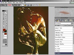Capture d'écran du logiciel Deep Paint 2.0.0.23