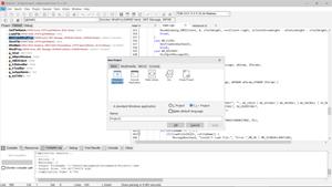 Capture d'écran du logiciel Dev-C++ Portable 5.11