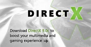 Capture d'écran du logiciel DirectX 9.29.1973 - Novembre 2...