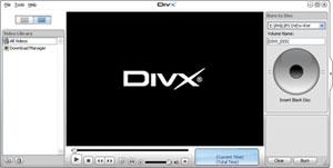 Capture d'écran du logiciel Codec DivX 10.8.6 fr - Windows