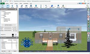 Capture d'écran du logiciel DreamPlan Home Design Software...