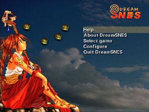 Capture d'écran du logiciel DreamSnes 0.9.8 fr - Discjuggler