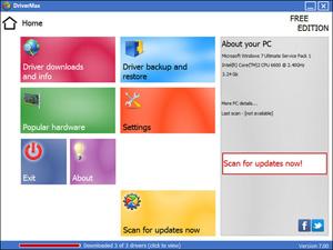 Capture d'écran du logiciel DriverMax 10.12.0.10