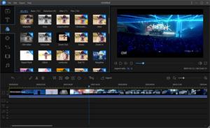 Capture d'ecran du logiciel EaseUS Video Editor 1.6.3.29 fr