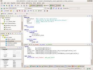 Capture d'ecran du logiciel EiffelStudio 19.05 Build 103187