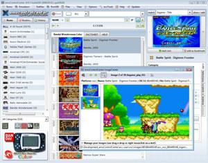 Capture d'ecran du logiciel emuControlCenter 1.23