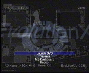 Capture d'écran du logiciel EvolutionX 3.9.21
