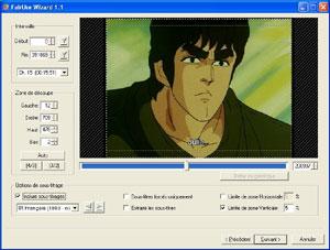 Capture d'écran du logiciel FairUse Wizard 3DR2 Light Edit...