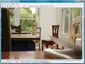 Capture d'écran du logiciel FastStone MaxView 3.1