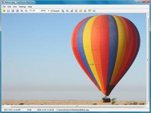 Capture d'écran du logiciel FastStone MaxView Portable 3.1