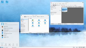 Capture d'écran du logiciel Fedora Core 26 - DVD