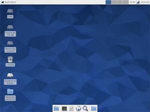 Capture d'écran du logiciel Fedora Core 25 - DVD