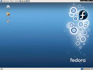 Capture d'écran du logiciel Fedora Core 5 Finale - DVD