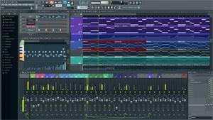 Capture d'ecran du logiciel FL Studio 20.5.1.1193