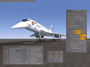 Capture d'ecran du logiciel FlightGear 2017.3.1 fr