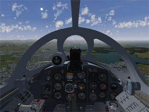 Capture d'ecran du logiciel FlightGear 2017.3.1 fr - Mac