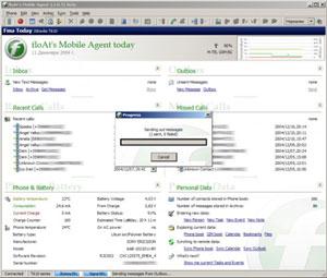Capture d'écran du logiciel FloAt's Mobile Agent 2.1 ...