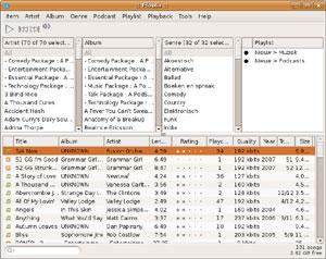 Capture d'ecran du logiciel Floola 2012r1 fr - Linux
