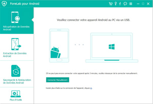 Capture d'ecran du logiciel FoneLab for Android 3.1.12 fr