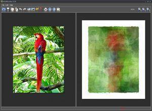 Capture d'écran du logiciel FotoSketcher Portable 3.20 fr