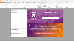 Capture d'écran du logiciel Foxit Reader Portable 9.1.0.50...