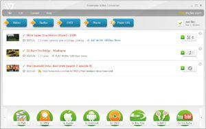 Capture d'ecran du logiciel Freemake Video Converter 4.1.13.49 fr