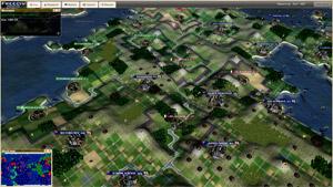 Capture d'ecran du logiciel Freeciv 2.6.2 fr