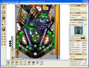 Capture d'écran du logiciel Future Pinball 1.9.1.20101231