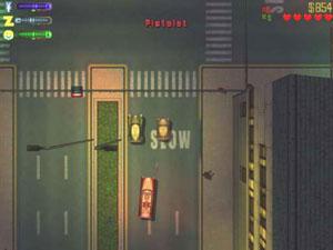 Capture d'écran du logiciel Grand Theft Auto Volume 2