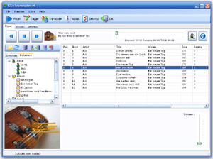 Capture d'ecran du logiciel GX::Transcoder 5.0.2.866 beta 10.7 fr