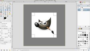 Capture d'ecran du logiciel Gimp 2.10.14 fr - Mac