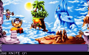 Capture d'écran du logiciel Goblins 3 fr