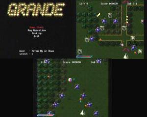 Capture d'écran du logiciel Grande 0.5 - Discjuggler