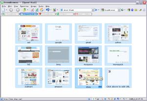 Capture d'écran du logiciel GreenBrowser Portable 6.9.1223 Fr