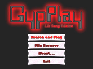 Capture d'ecran du logiciel GypPlay LikSang Edition 2.0