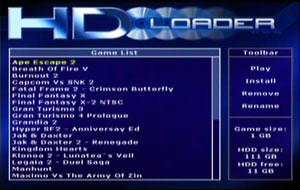 Capture d'écran du logiciel Patch HDLoader 48 bit LBA 0.2c