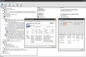 Capture d'écran du logiciel HWiNFO Portable 5.74