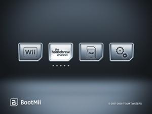 Capture d'ecran du logiciel HackMii Installer 1.2