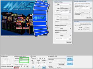 Capture d'ecran du logiciel Hardcade 4.122919b fr