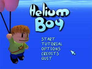 Capture d'écran du logiciel Helium Boy 0.91