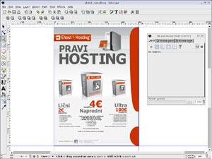 Capture d'écran du logiciel Inkscape 0.92.2 fr - MacOS